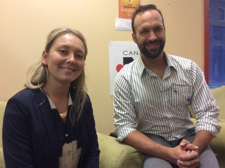 Delphine Berger et Dr Benoît Hammarrenger