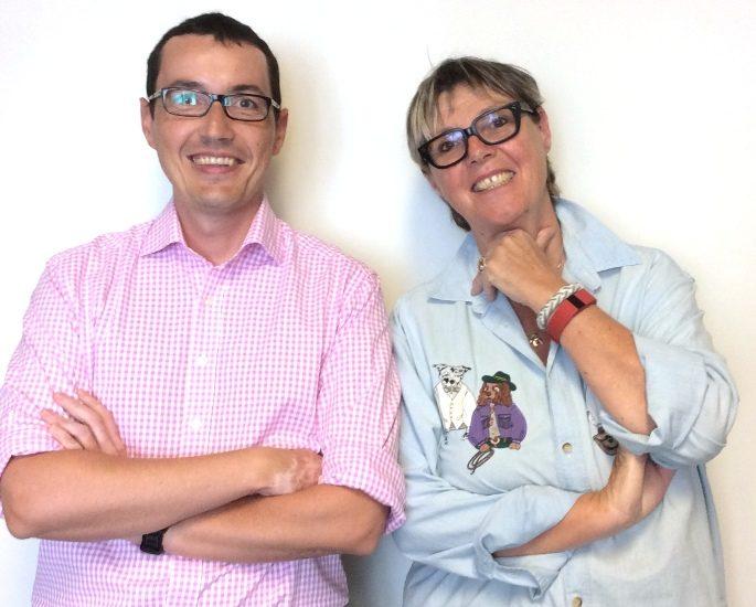 Jérôme Bobin et Clotilde Seille