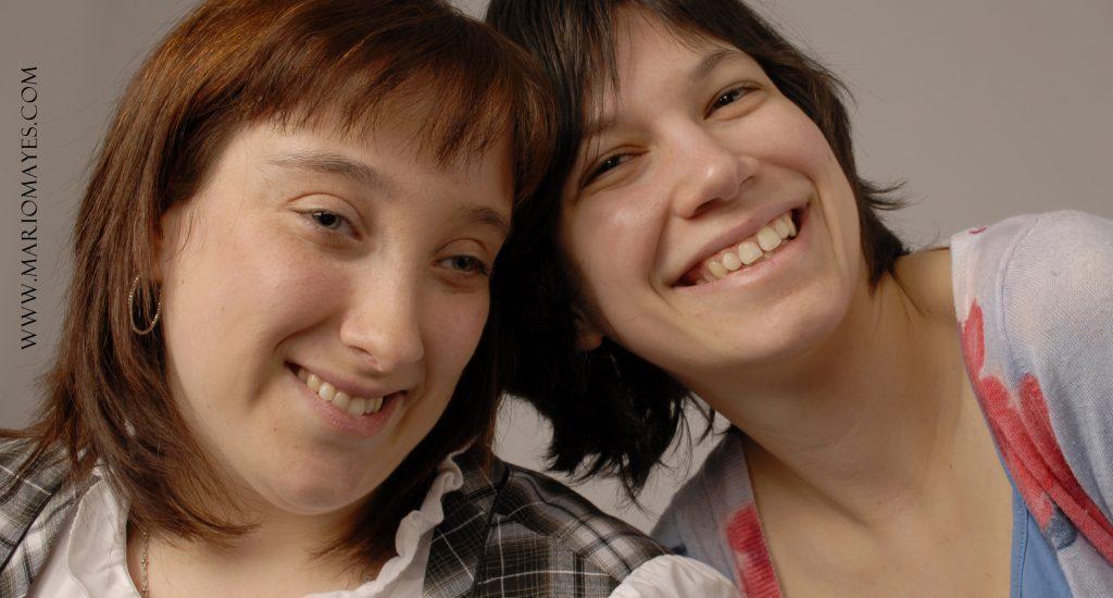Sarah et Valérie, jumelées par le Centre de parrainage civique de Québec. Photo Mario Mayes