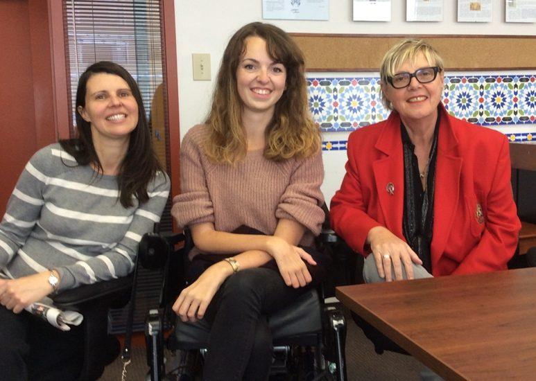 Anne-Laure Jeanson, Audrey Barbeau et Clotilde Seille