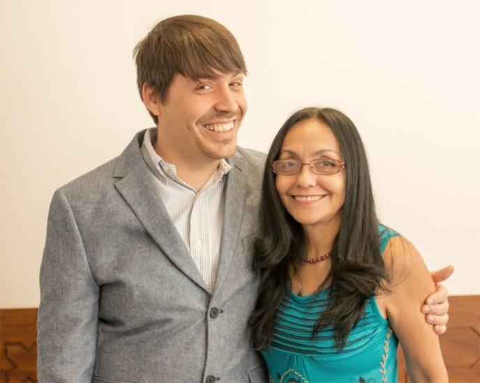 Benoit Racette et Lucila Guerrero