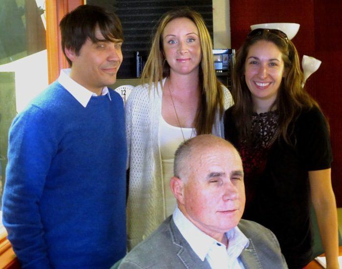 Benoit Racette,Marilyn Gélinas, Sarah Rouleau et James Bergeron