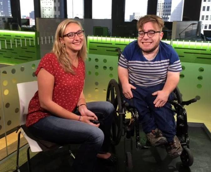 Jessie Archambault et Kéven Breton de AMI-télé