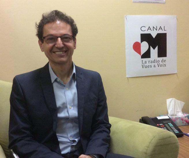 Luc Simard de Radio-Canada