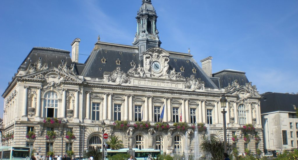 L'Hôtel de ville de Tours