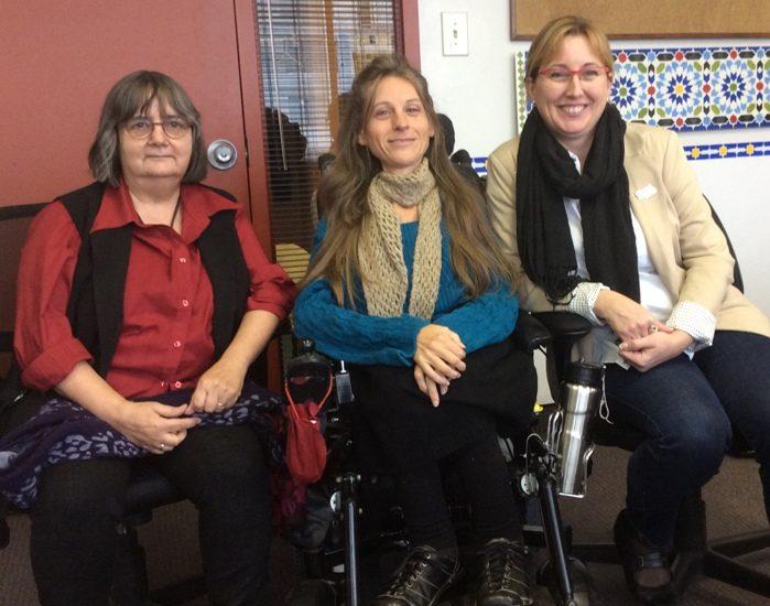 Susanne Beaulieu, Marie-Claude Lépine et Geneviève Labrecque