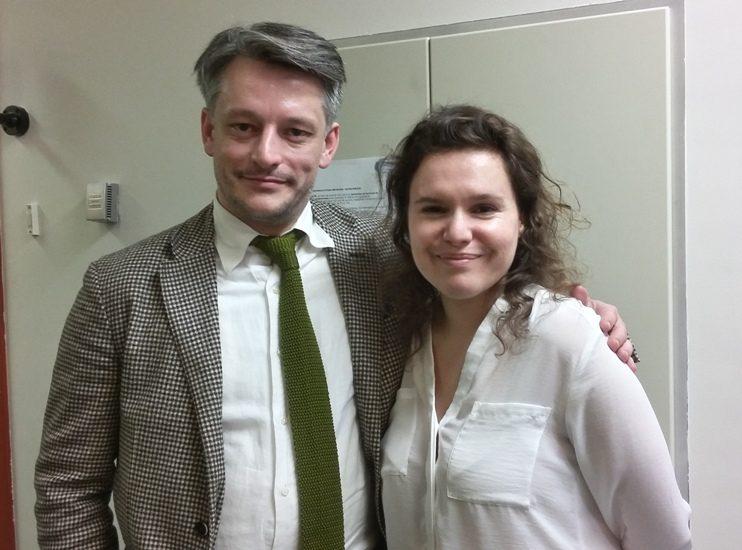 Hugo Horiot et Marianne Paquette