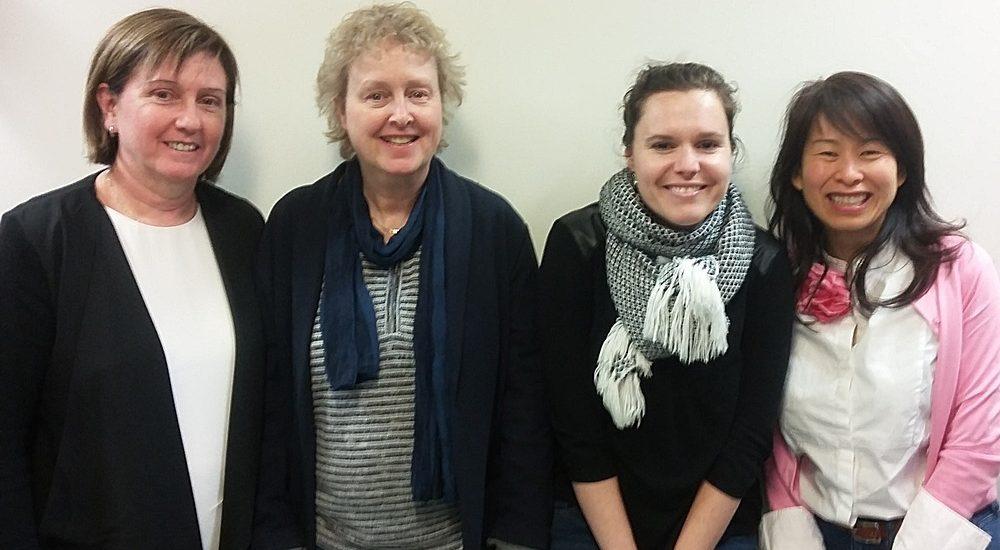 Lise St-Charles, Brigitte Harrisson, Marianne, Kim Thuy