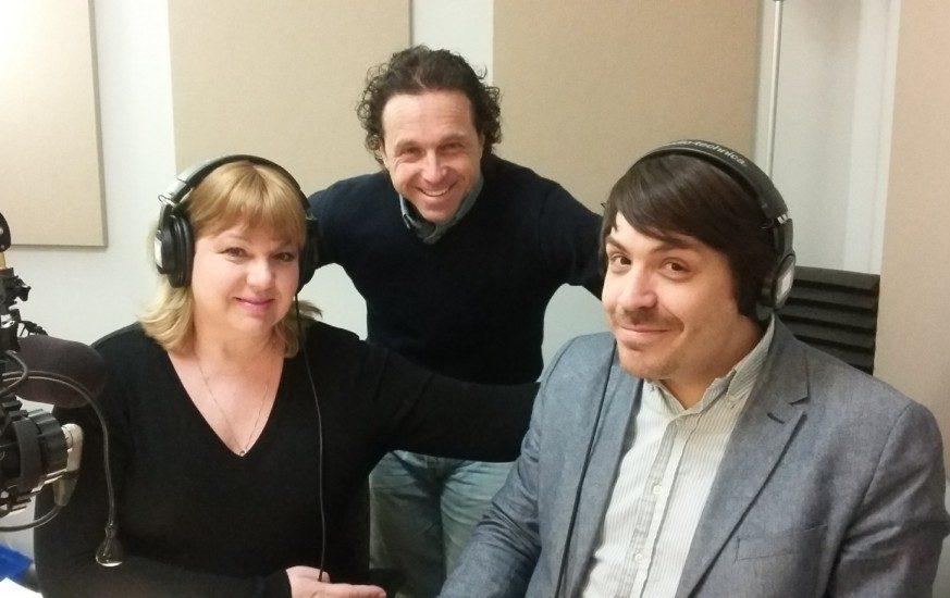Sophie Stanké, Mario Saint-Amant et Benoit Racette.