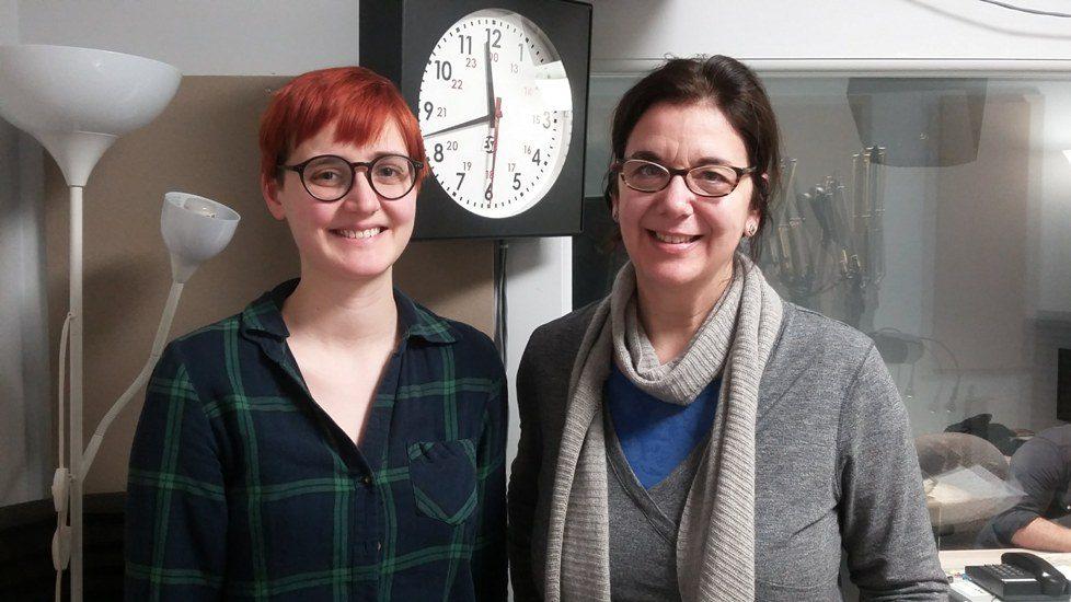 Sophie Bédard et Hélène Denis