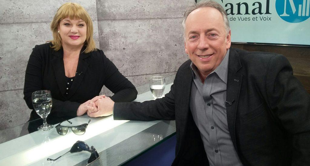 Sophie Stanké et Benoît Dutrizac