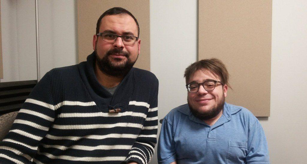 Mohamed Reda Khomsi et Kéven Breton