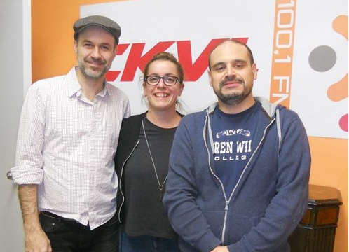 Robin Boulianne, Marie-Piere Lecault et Marc Bolduc.