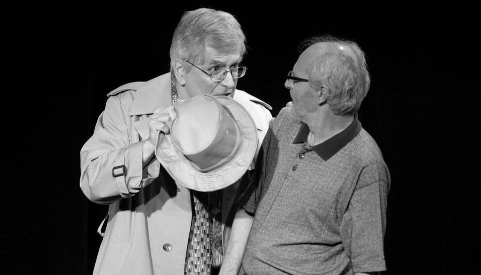 Gérald Cousineau dans une précédente prosuction du théâtre L'Artboretum
