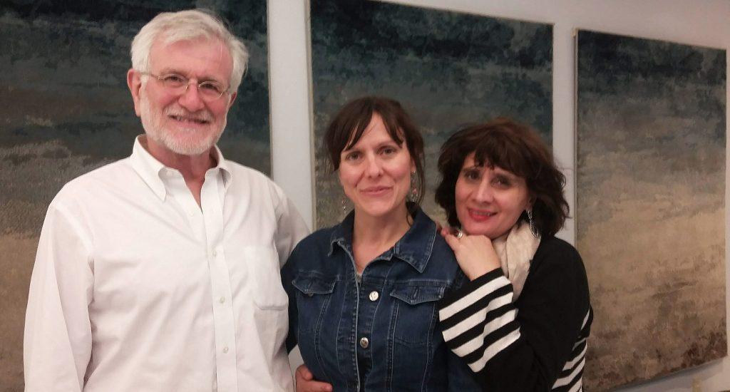 François Barruel, Mylène Paquette et Catherine Bourderon.