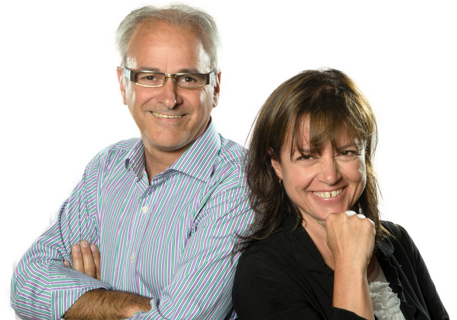 Michel Poulin et Diane Fellice