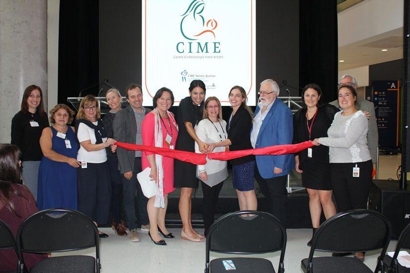 Inauguration du  du premier Centre d'Infectiologie Mère-Enfant