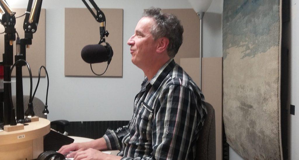 Luc Fortin, au micro d'accès libre