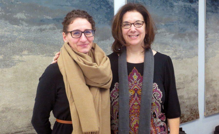Nathalie Richard et Hélène Denis, deux femmes aux cheveux bruns portant des lunettes.