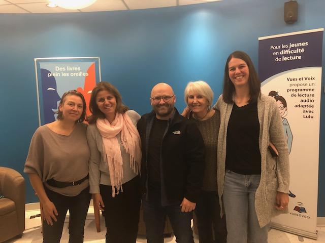 Arlette entourée de ses invités du 14 mai 2019