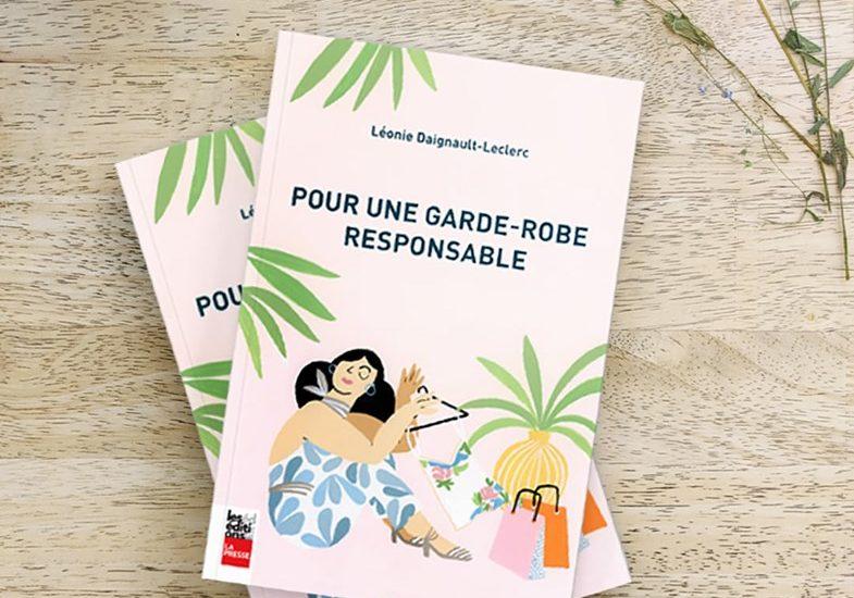"""Couverture du livre """"Pour une garde-robe responsable"""""""