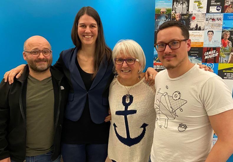 Arlette reçoit: Mathieu Tessier, LEM et Maxime Romain.
