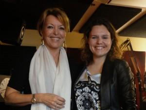 Marie Lise Labonté en compagnie de Marianne Paquette